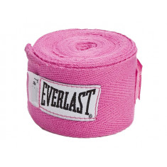 Бинты боксерские Everlast Hand Wraps 2.75 м розовые