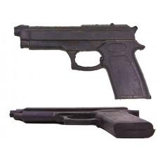 Пистолет тренировочный резина