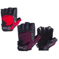 Перчатки для фитнеса Hit fit 2154(кожа, замша)