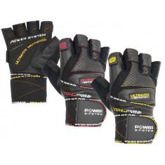 Перчатки для фитнеса и тяжелой атлетики Power System Ultimate Motivation PS-2810