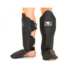 Защита для голени и стопы кожаная VL-6623