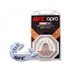 Капа OPRO Bronze UFC Hologram white