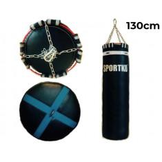 Мешок боксерский Олимп Sportko h-130 см кожа