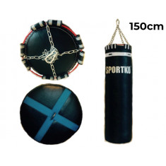Мешок боксерский Олимп Sportko h-150 см кожа