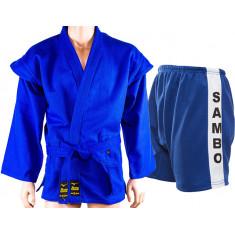 Форма для самбо Mizuno синяя