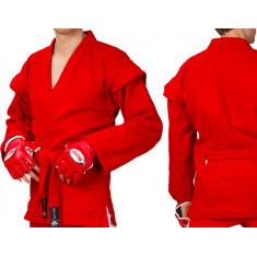 Куртка самбо MATSA красная