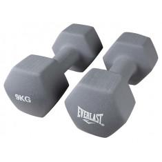 Гантели 9 кг Everlast (пара)