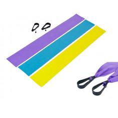 Лента эластичная с ручками набор 3 штуки