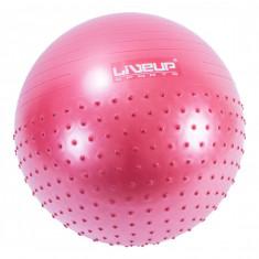 Мяч полумассажный два в одном LiveUp 65 см
