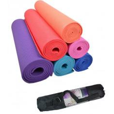 Коврик Yoga mat GreenCamp PVC 4 мм с чехлом