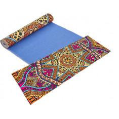 Коврик для йоги PVC замшевый 3 мм Yoga mat (6880-05)