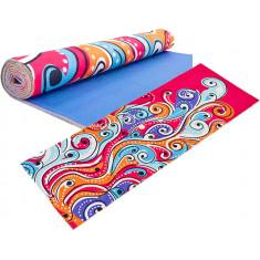 Коврик для йоги PVC замшевый 3 мм Yoga mat (6880-06)
