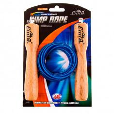 Скакалка с деревянными ручками CIMA