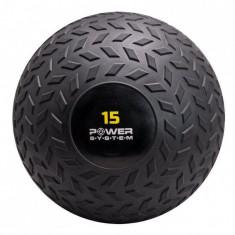 Мяч SlamBall рельефный 15 кг Power System