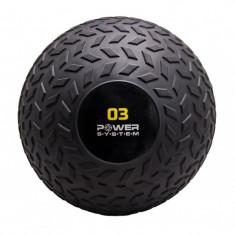 Мяч SlamBall рельефный 3 кг Power System