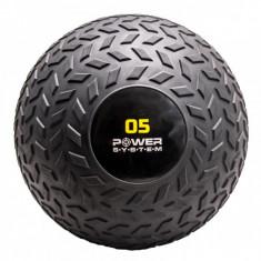 Мяч SlamBall рельефный 5 кг Power System