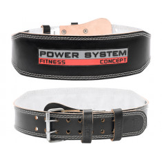 Пояс для тяжелой атлетики Power System PS-3100 Power Black 10 см