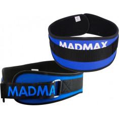 Пояс атлетический Mad Max MFB-421 синий