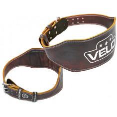 Пояс атлетический кожаный VELO 15см
