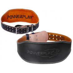 Пояс для тяжелой атлетики PowerPlay 5086 кожа 15 см