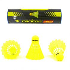 Воланы для бадминтона CARLTON T800 желтые (6шт)