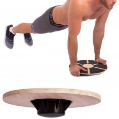 Диск балансировочный деревянный WOODEN BALANCE BOARD