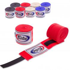 Бинты боксерские FAIRTEX 5м эластичные