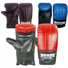 Снарядные перчатки BOXER кожа