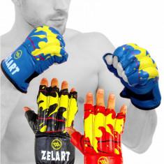Снарядные перчатки ZELART кожаные