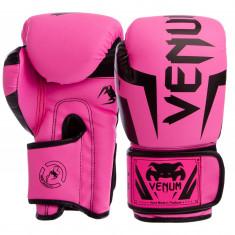 Перчатки боксерские VENUM 8-12 oz розовые