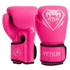 Перчатки боксерские VENUM 12 oz (8351) розовые