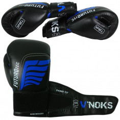 Боксерские перчатки V`NOKS FUTURO TEC кожа