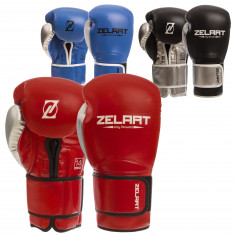 Перчатки боксерские ZELART BO-1384 (10-14 oz)