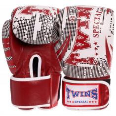 Боксерские перчатки TWINS Print-5 кожа (10oz, 12oz)