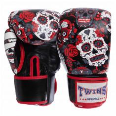 Боксерские перчатки TWINS Print-2 кожа (10oz, 12oz)