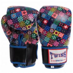 Боксерские перчатки TWINS Print-3 кожа (10oz, 12oz)