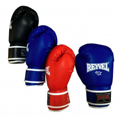 Перчатки боксерские REYVEL 12 oz кожзам