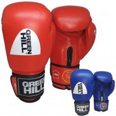 Боксерские перчатки GREEN HILL KNOCK с печатью ФБУ 10 oz