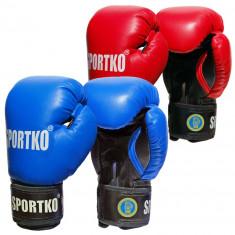 Перчатки боксерские с печатью ФБУ SPORTKO 10-12 oz