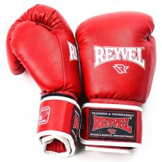 Перчатки боксерские REYVEL Fortuna 10oz красные