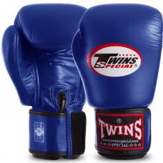 Перчатки боксерские TWINS BGVL3 синий 12oz, 14oz