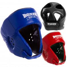 Шлем для бокса и тхэквондо BOXER кожа