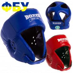 Шлем BOXER с печатью ФБУ кожа