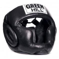 Шлем тренировочный GREEN HILL Super кожаный