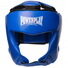 Боксерский шлем PowerPlay 3049 кожаный