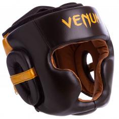 Шлем с полной защитой кожаный (VL-8312)