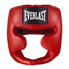 Шлем с полной защитой Everlast MMA Leather full кожа