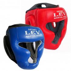 Шлем тренировочный LEV кожа (S, M, L, XL)