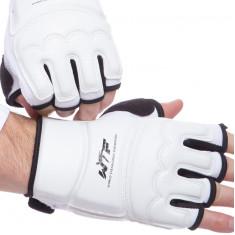 Перчатки для таеквондо WTF белые