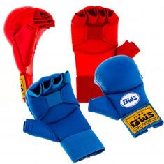 Перчатки для карате BWS накладки
